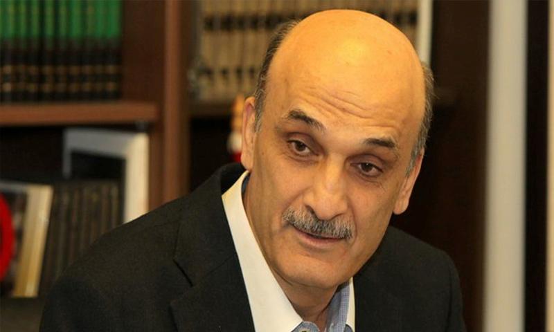 رئيس حزب القوات اللبنانية، سمير جعجع - (جنوبية)