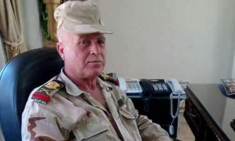 قائد الفرقة 11 دبابات العماد علي الحسين - (فيس بوك)