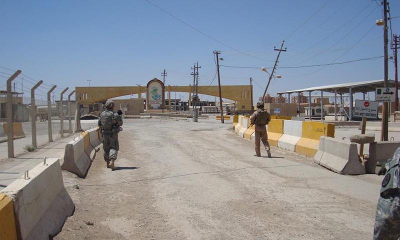 نقطة البوكمال الحدودية مع العراق (وكالة أنباء آسيا)