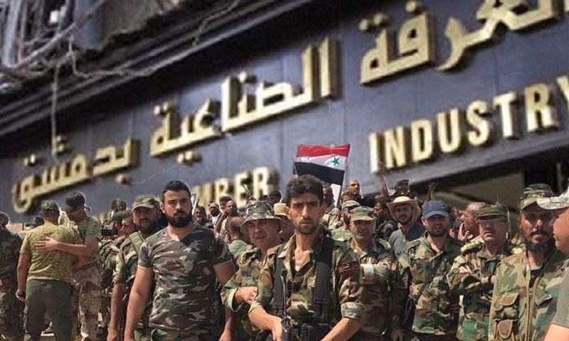 تسريح الدورة 102 من قوات الاسد (تعديل عنب بلدي)