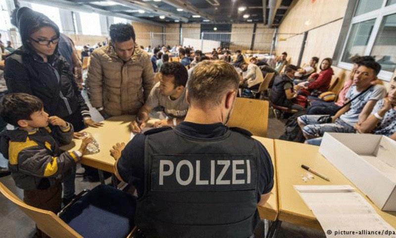 تسجيل اللاجئين في ألمانيا (DPA) الألمانية