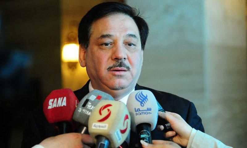 وزير المالية مأمون حمدان (سانا)