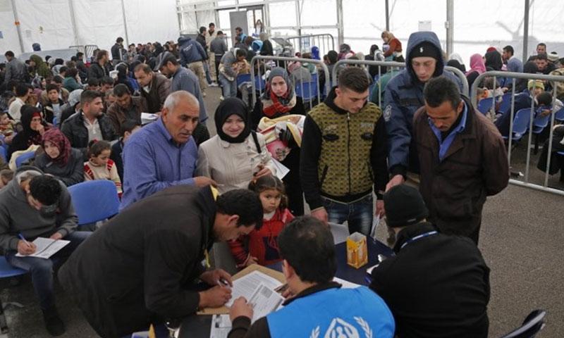 النازحون السوريين في لبنان ( اذاعة النور)