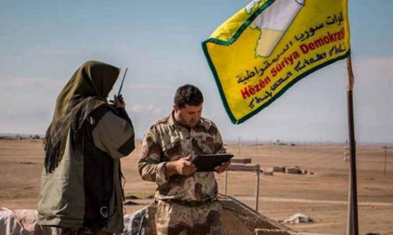 قوات سوريا الديمقراطية في الرقة(البوابة)