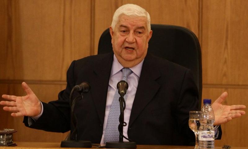 وزير الخارجية السوري وليد المعلم (AFP)