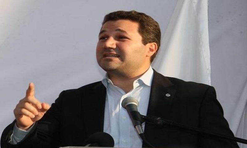 النائب عن حزب الكتائب اللبناني نديم الجميل (الجديد)