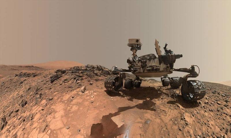 """مركبة """"كيوسيتي مارس"""" التابعة لوكالة ناسا المركبة (ناسا)"""