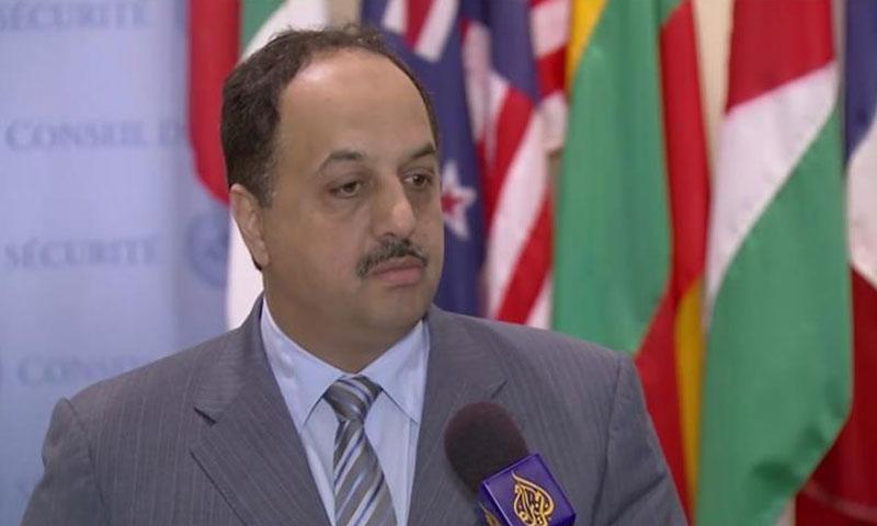 وزير الخارجية القطري (الجزيرة نت)