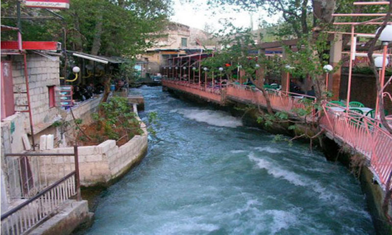 طريق الربوة في دمشق (سانا)