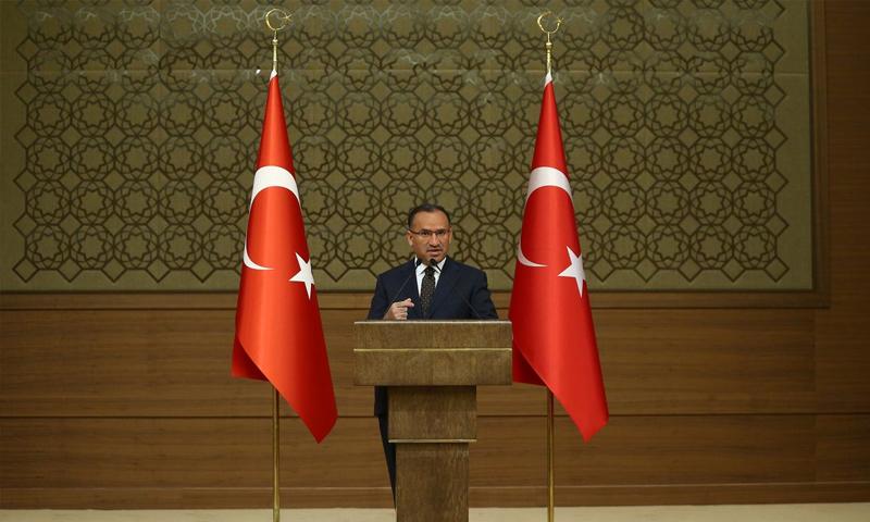 المتحدث باسم الحكومة التركية بكر بوزداغ - 6 من حزيران 2018 (TRT)