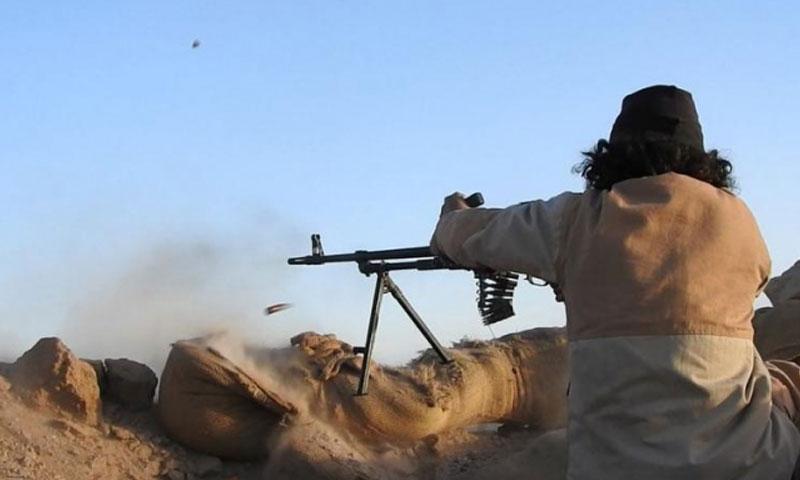 """""""تنظيم الدولة"""" في بادية تدمر السخنة (السورية نت)"""