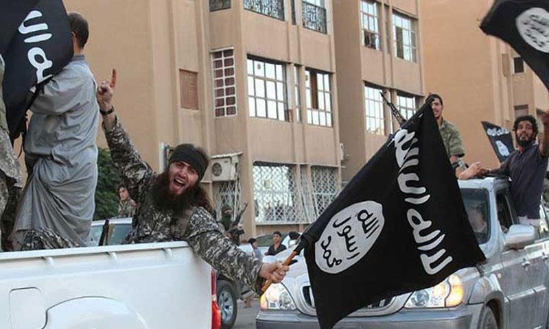 """مقاتلو تنظيم """"الدولة الإسلامية"""" في الحسكة (إصدار لتنظيم الدولة)"""