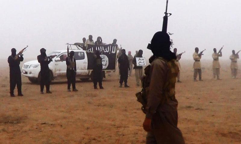 مقاتلي تنظيم الدولة الاسلامية في سوريا (أعماق)