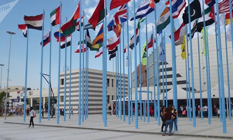 الشركات الروسية في معرض دمشق الدولي (سبوتنيك)