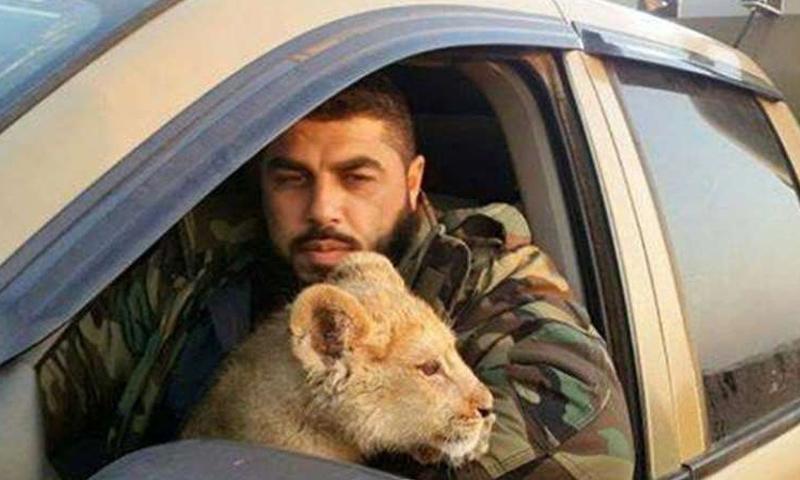 طلال الدقاق أحد المسؤولين الأمنيين في محافظة حماة (فيس بوك)