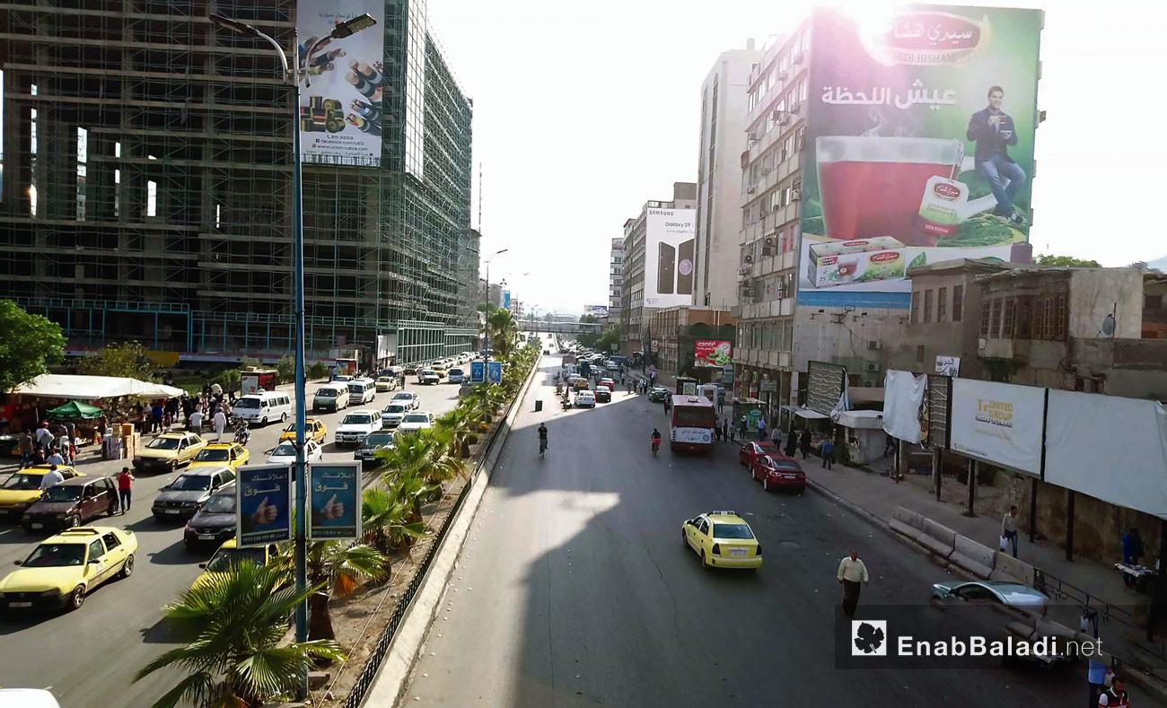شارع الثورة في العاصمة دمشق – 6 من حزيران 2018 (عنب بلدي)