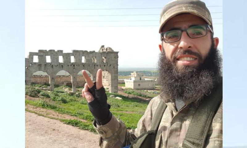 القيادي السابق في أحرار الشام الفاروق أحرار أبو بكر - (تلغرام)