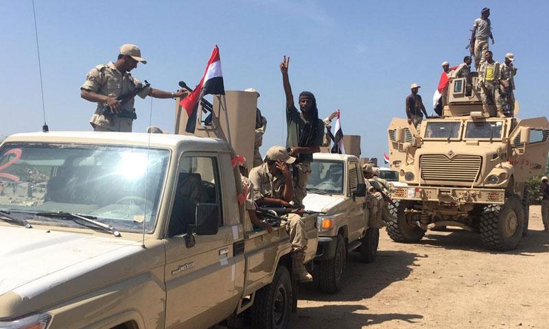 قوات يمنية في الحديدة في اليمن (صوت اليمن)