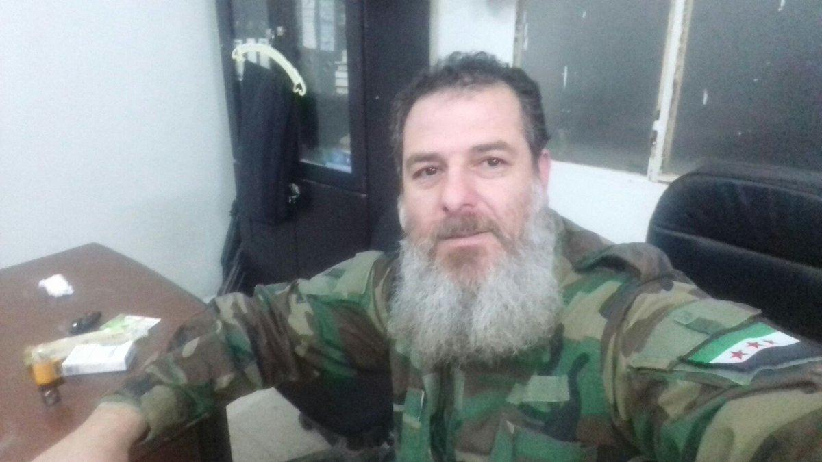 أحمد الظافر، مسؤول اللجنة الأمنية في قلعة المضيق (أبو حمزة-تويتر)