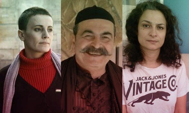 الفنانون الراحلون مي سكاف،عامر سبيعي، فدوى سليمان (تعديل عنب لبدي)