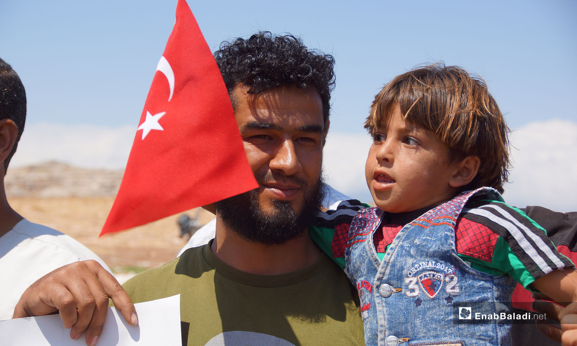 اهالي سهل الغاب يطالبون بالحماية التركية في ريف حماة - 30 تموز 2018 (عنب بلدي)