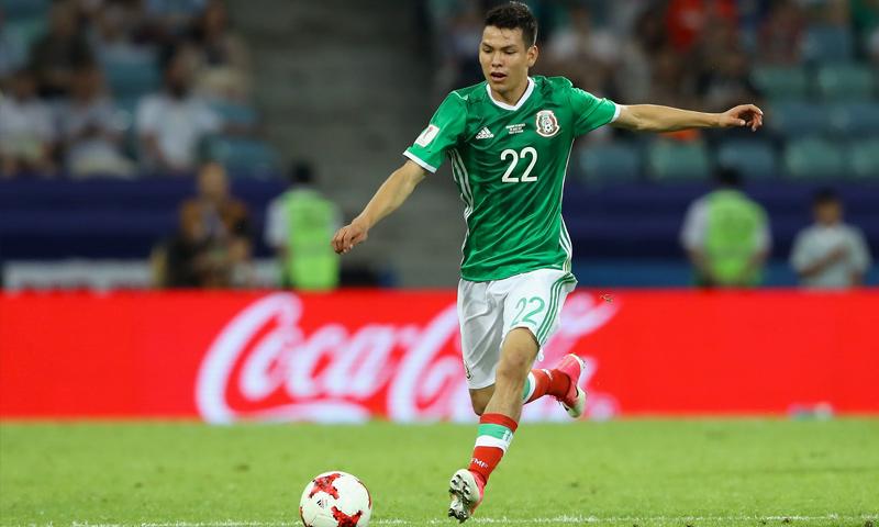 اللاعب المكسيكي الشاب لوزانو