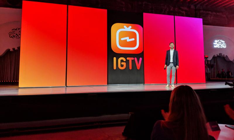 """إطلاق ميزة """"IGTV"""" في تطبيق انستغرام (businessinsider)"""