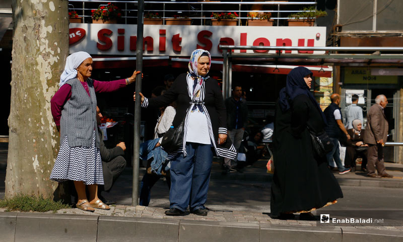 تعبيرية لمواطنين في مدينة اسطنبول التركية - 10 أيار 2017 (عنب بلدي)