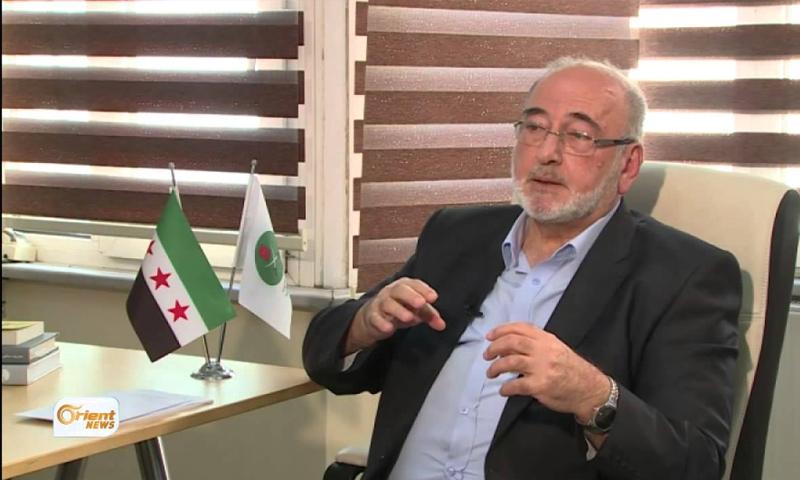 المراقب العام لجماعة الإخوان المسلمين في سوريا، محمد حكمت وليد - (أورينت)