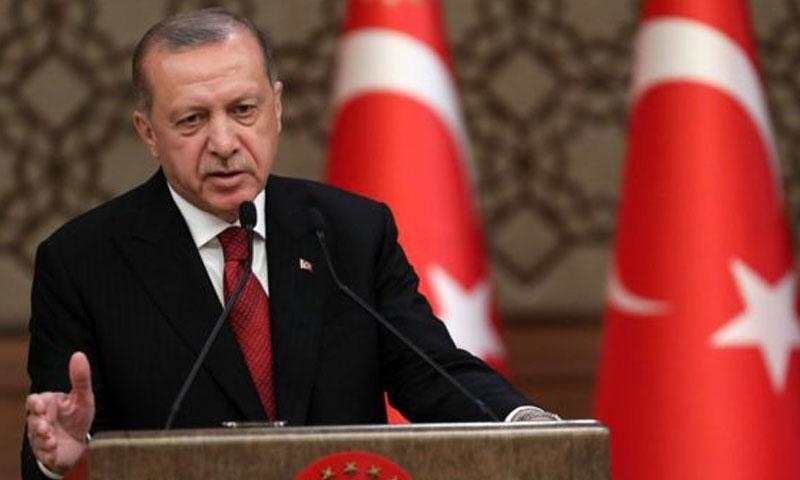 الرئيس التركي رجب طيب أردوغان (TRT)