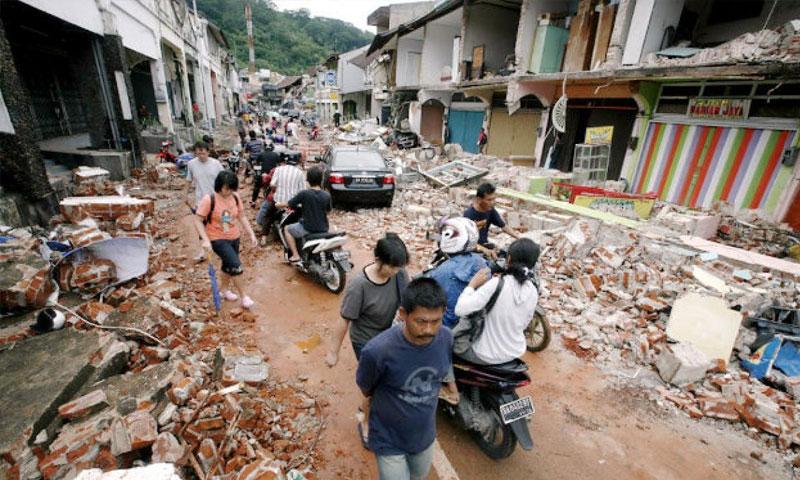 زلزال في أندونيسيا 29 تموز 2018 (وكالات عالمية)