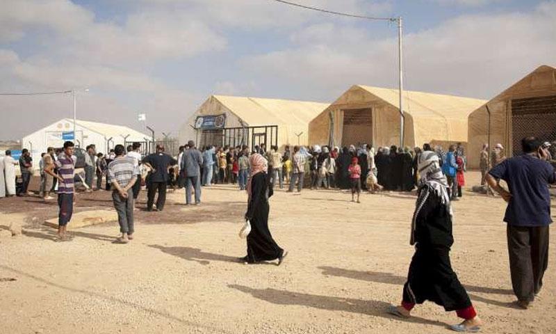مخيم الزعتري للاجئين السوريين في الأردن - صورة تعبيرية (وكالات أردنية)