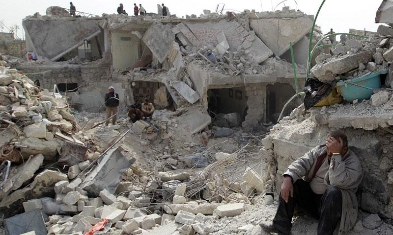 مجزرة في ريف حلب - تعبيرية ( المركز الصحفي السوري)