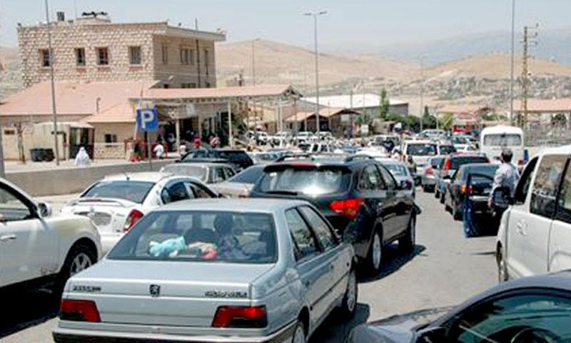 معبر المصنع بين لبنان وسوريا (صفحات انترنت)