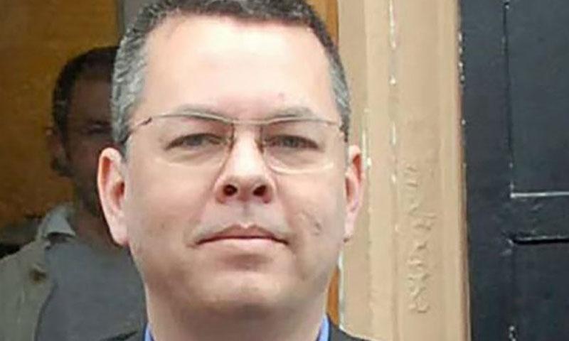 القس الأمريكي أندرو برونسون، محتجزر في تركيا (بي بي سي)