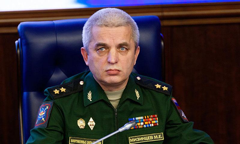 رئيس المرز الوطني لإدارة الدفاع الروسية، ميخائيل ميزينتسيف (سبوتنيك)