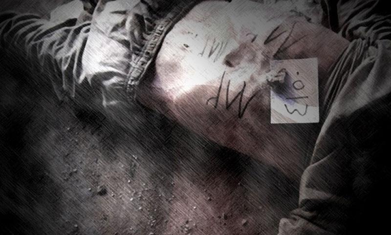 أحد ضحايا التعذيب في سجون الأسد (مجموعة العمل من أجل فلسطيني سوريا)