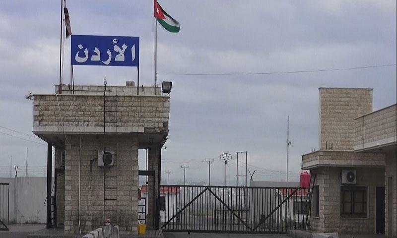 معبر نصيب بين سوريا والأردن ( مدار الأردن)