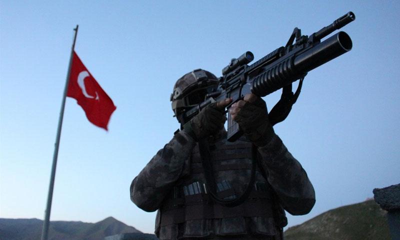 الجندرمة التركية -صورة تعبيرية (TRT)