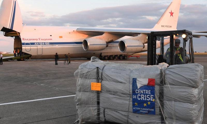 مساعدات فرنسية -صورة تعبيرية (مونتي كارلو الدولية)
