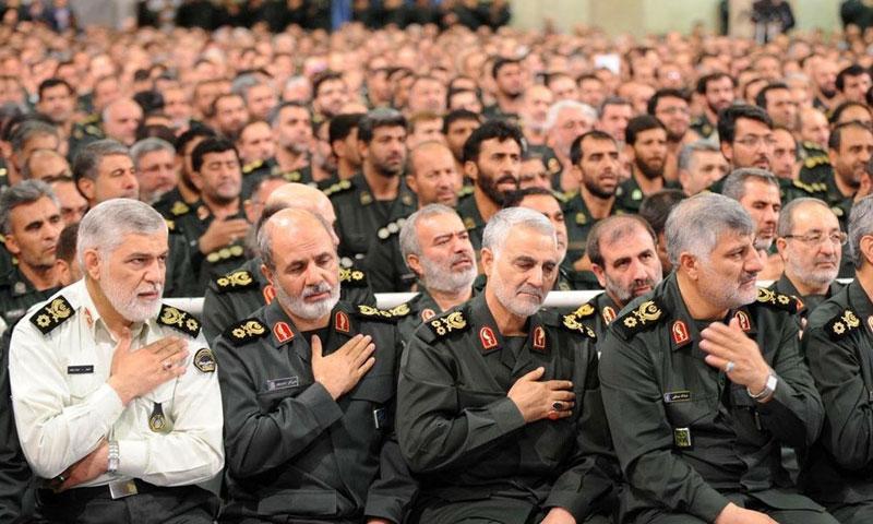 قوات الحرس الثوري الإيراني (وكالات إيرانية)