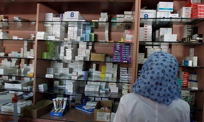 صيدلية في دمشق (الوطن أونلاين)