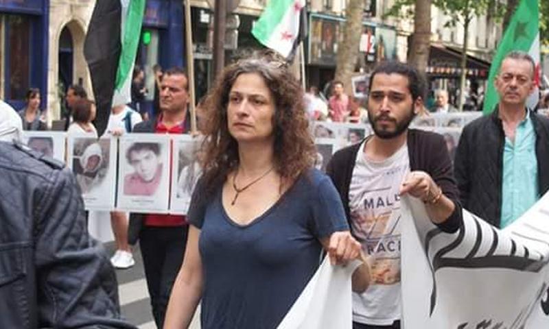 الممثلة السورية مي سكاف - (انترنت)