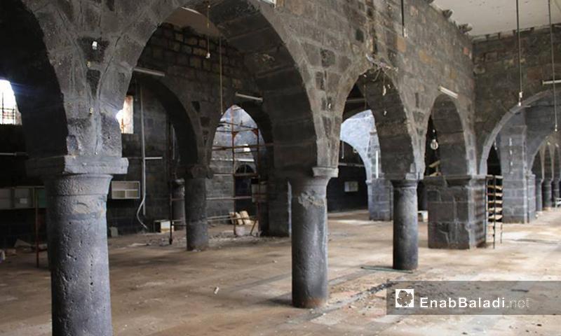 جامع العمري في درعا - 18 آذار 2016 (عنب بلدي)