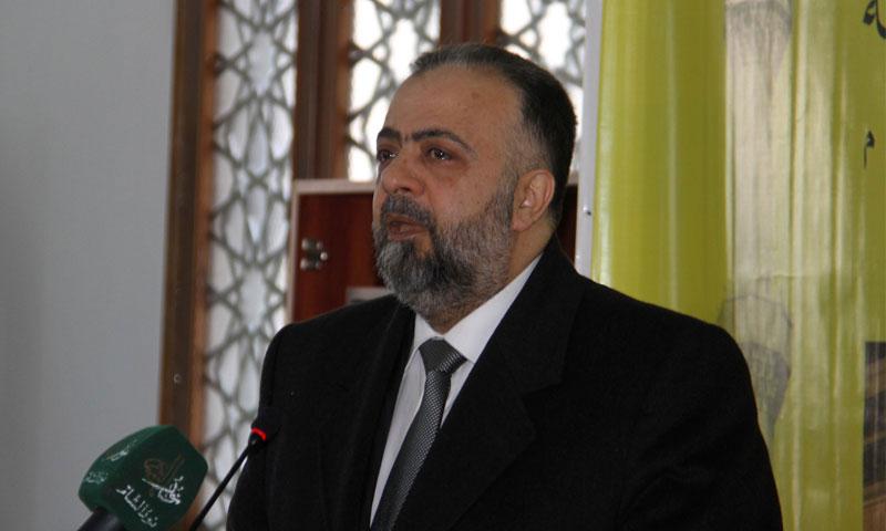 وزير الاوقاف السوري عبد الستار السيد (سانا)
