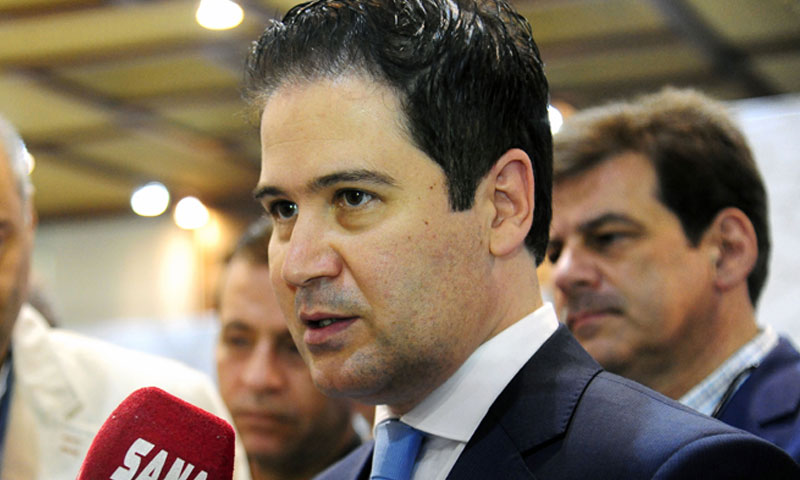 وزير السياحة السوري بشر يازجي (سانا)