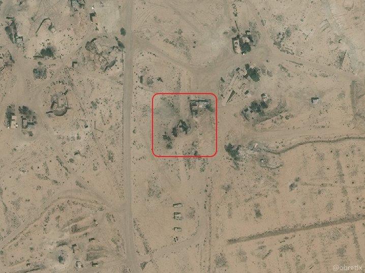 غارة على منظومة أس-200 دفاع جوية قرب الضمير - 10 أيار (5 كم شرق دمشق)