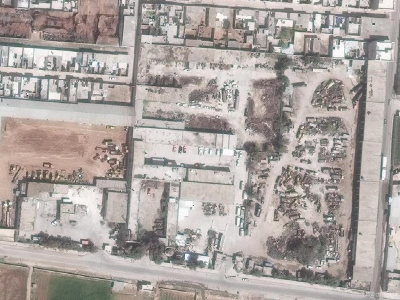 غارة اسرائيلية قرب مطار النيرب في حلب - 15 تموز 2018