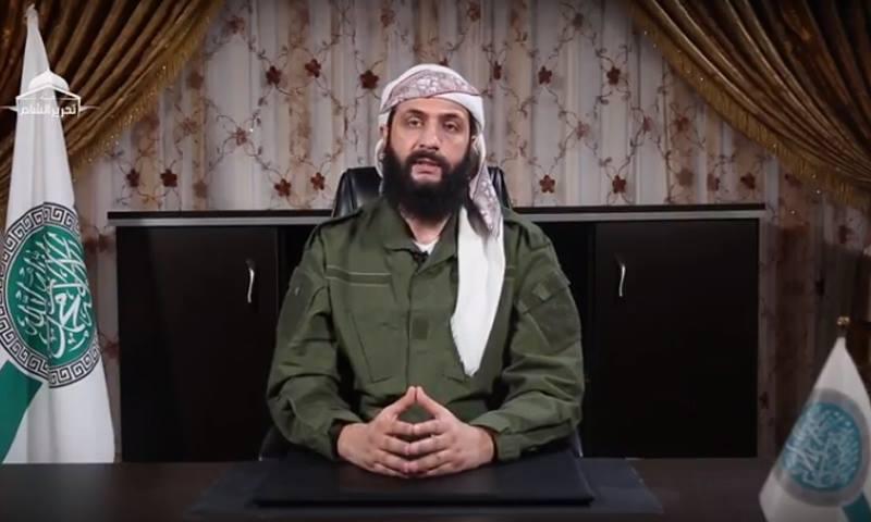 أبو محمد الجولاني قائد هيئة تحرير الشام - (يوتيوب)