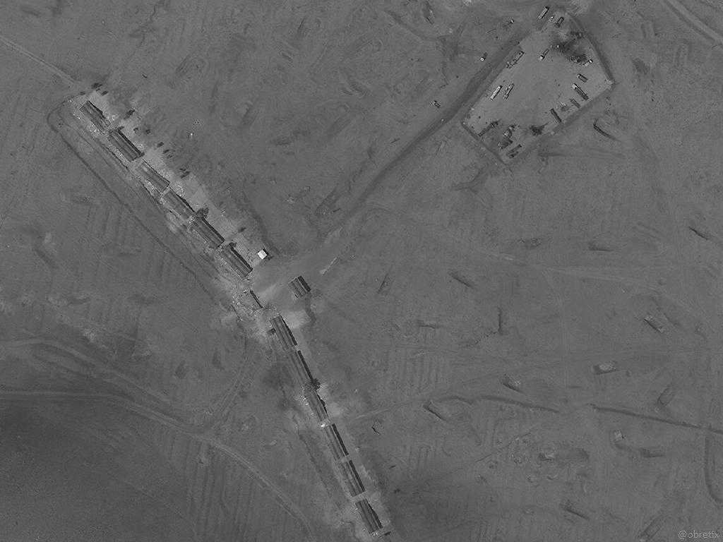 غارة اسرائيلية قرب الكسوة على موقع للقوات الإيرانية- 10 أيار (جنوب دمشق)